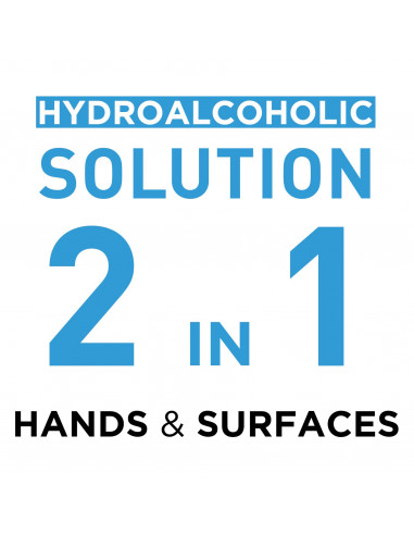 2-in-1 Hydroalcoholic Solution for...