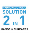 2-in-1 Hydroalcoholic Solution for Hands & Surfaces